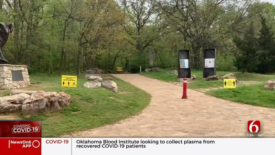 River Parks Authority Reminds People To Follow Physical Distancing Guidelines