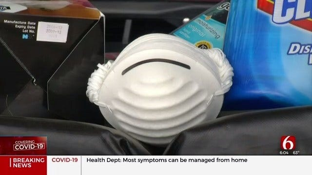 Creek County Paramedics Find Way To Re-Use N95 Masks