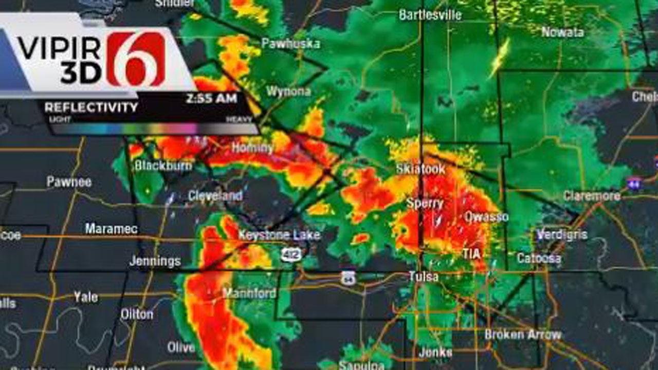 Severe Storms Move Through News On 6 Viewing Area