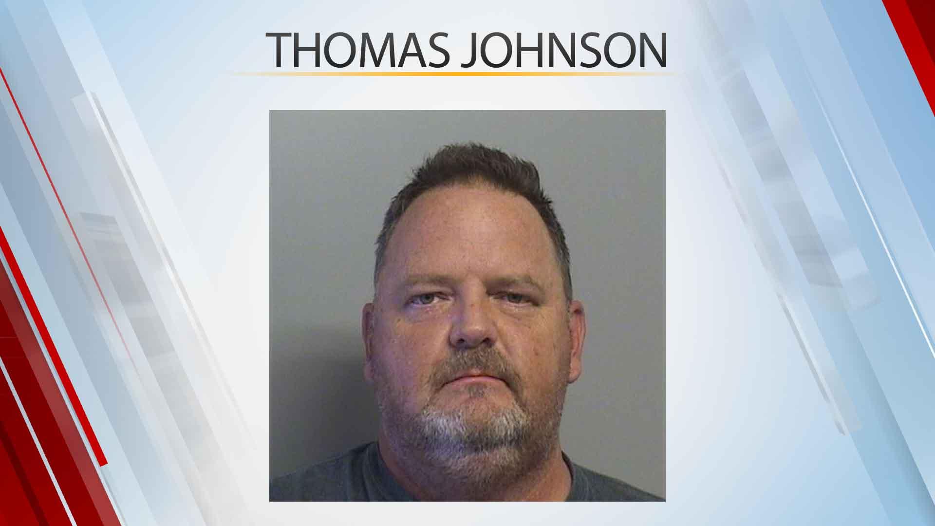 Booking photo of Thomas Johnson