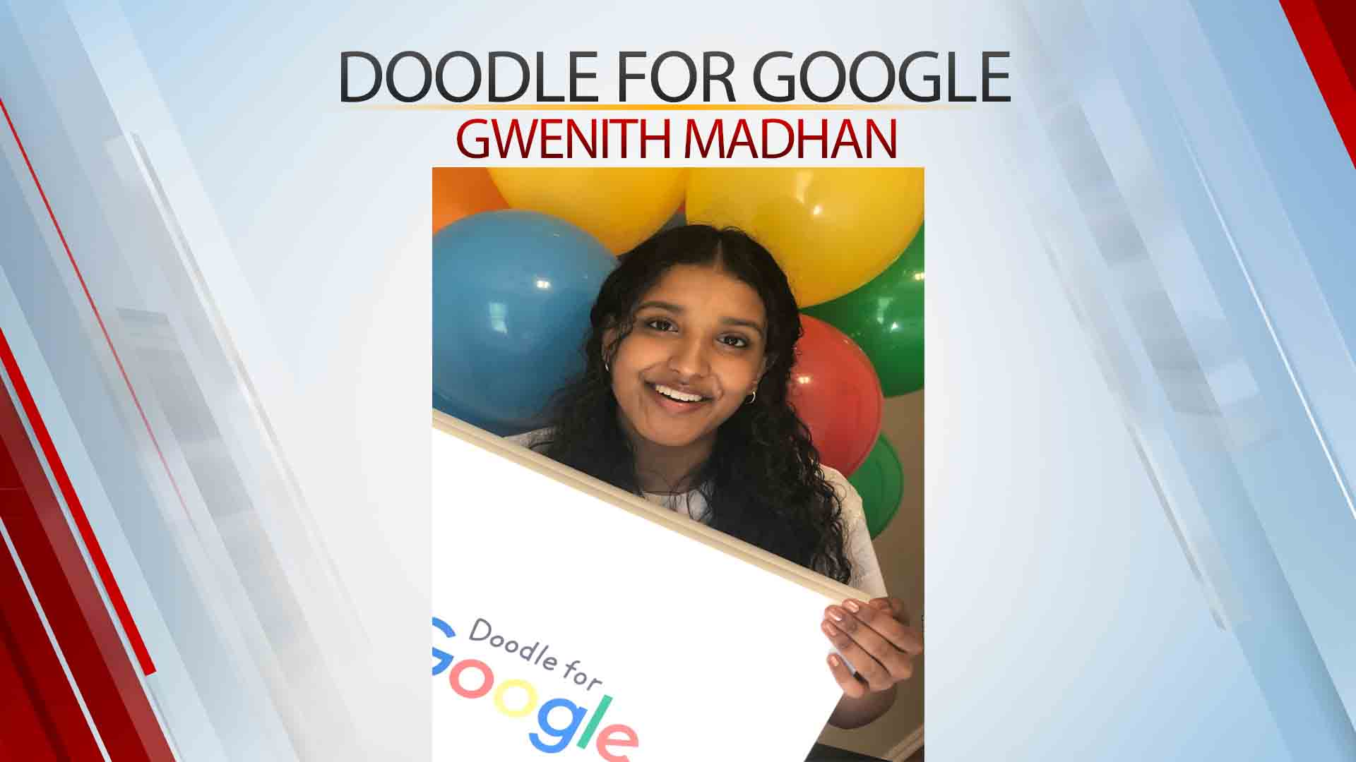 Jenks High School Student National Finalist For 'Doodle For Google' Competition
