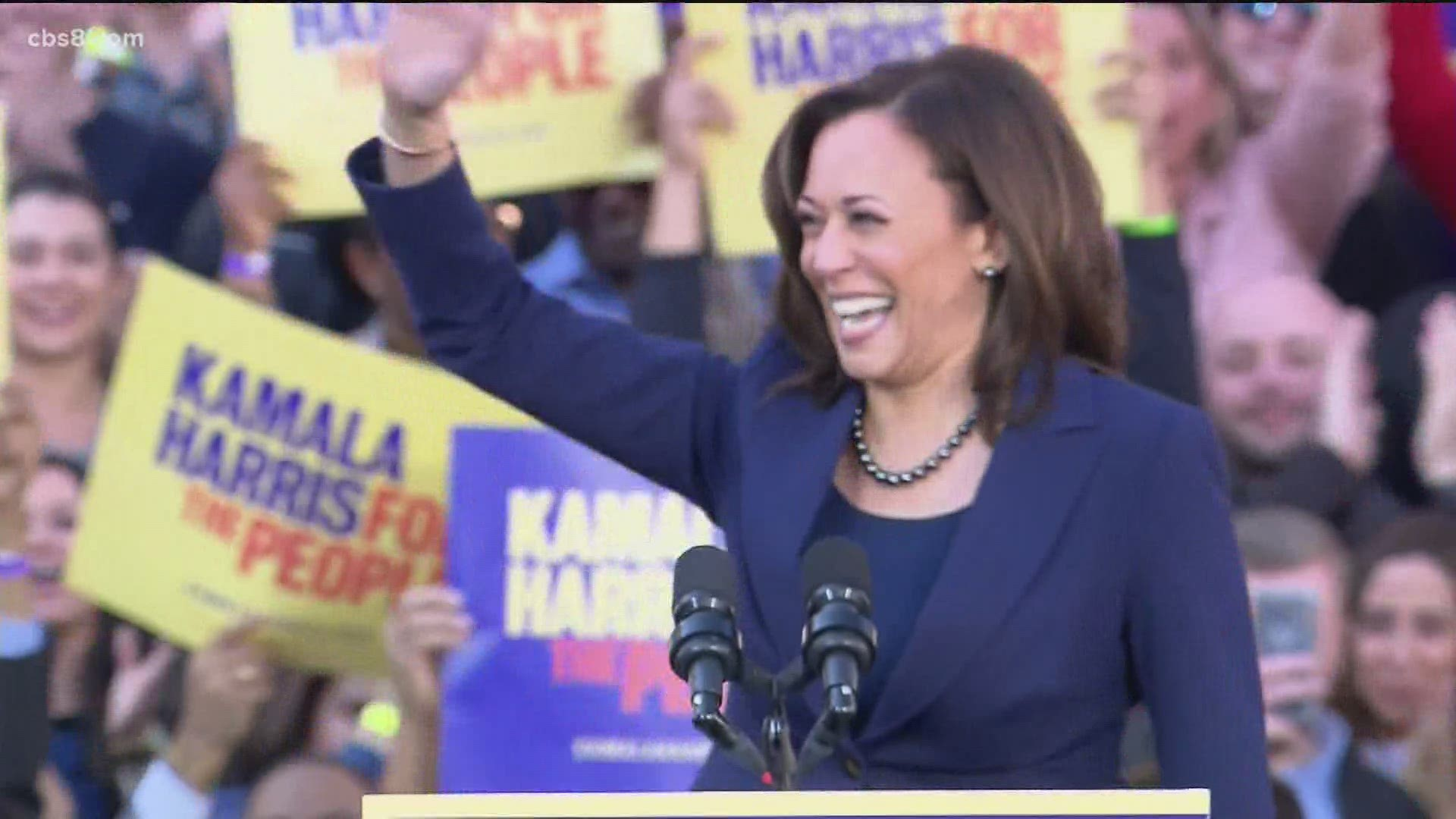 Kamala Harris Formally Nominated For Democratic Vice Presidential Candidate