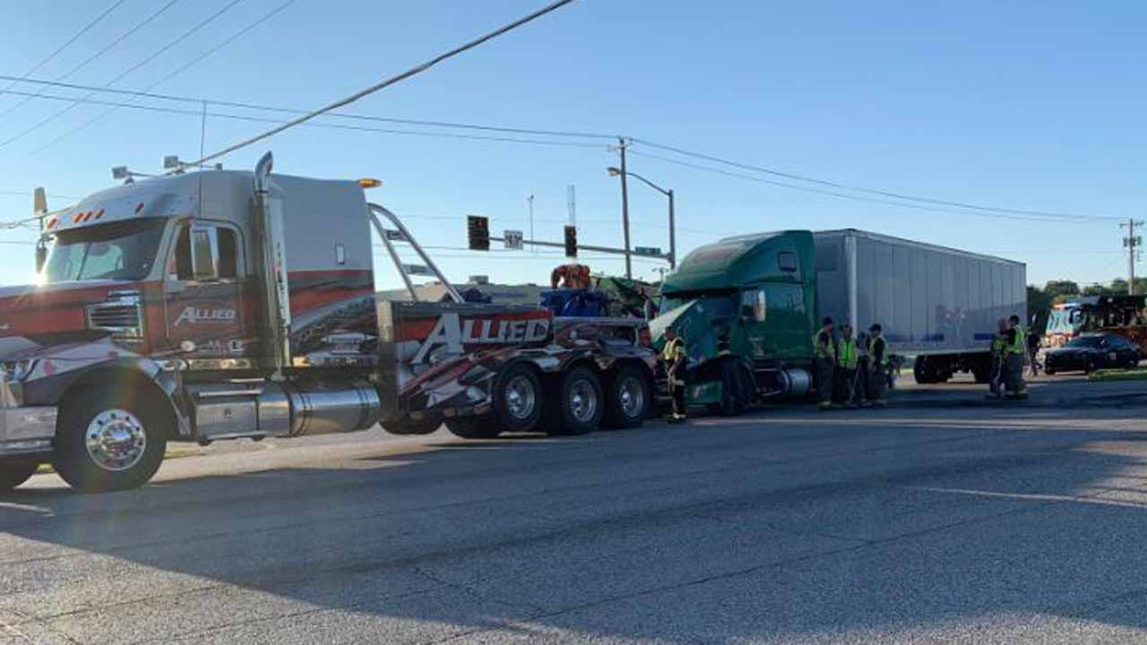 Glenpool School Bus Involved In Crash, No Students Injured