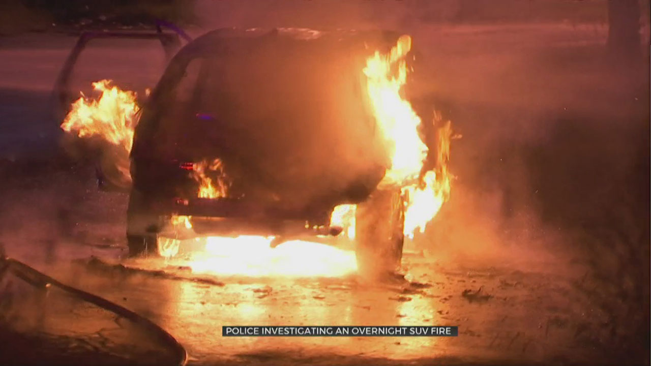 SUV Destroyed In Overnight Fire, TFD Says