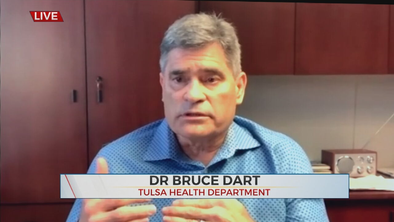 Watch: Dr. Dart Discusses COVID-19 In Tulsa County