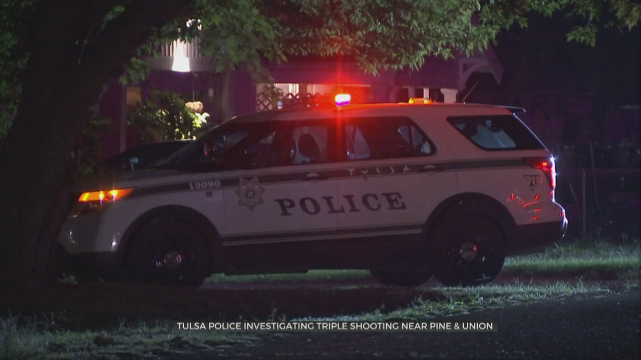 1 Dead, 1 In Custody After Triple Shooting In Tulsa, Police Say