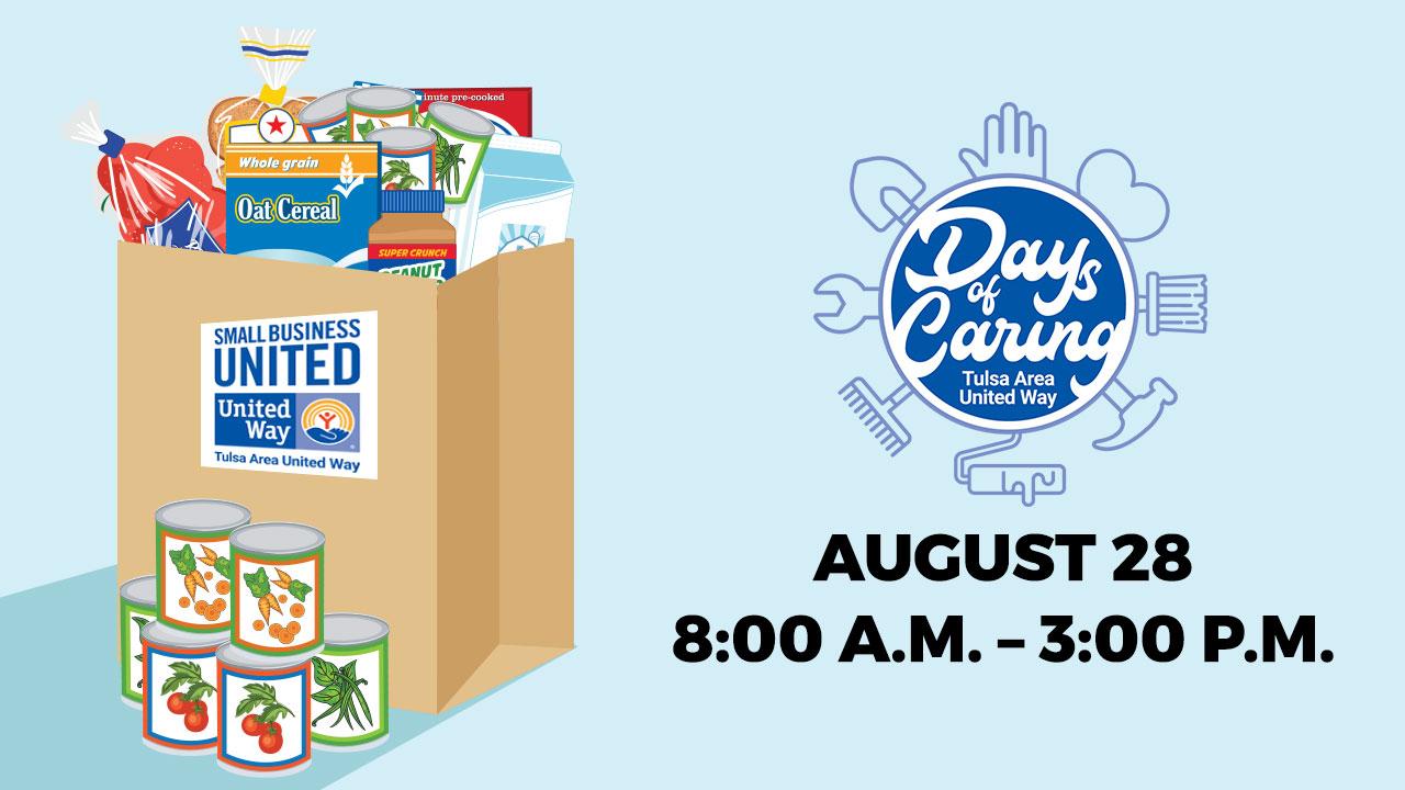 Tulsa United Way Days Of Caring Food Drive