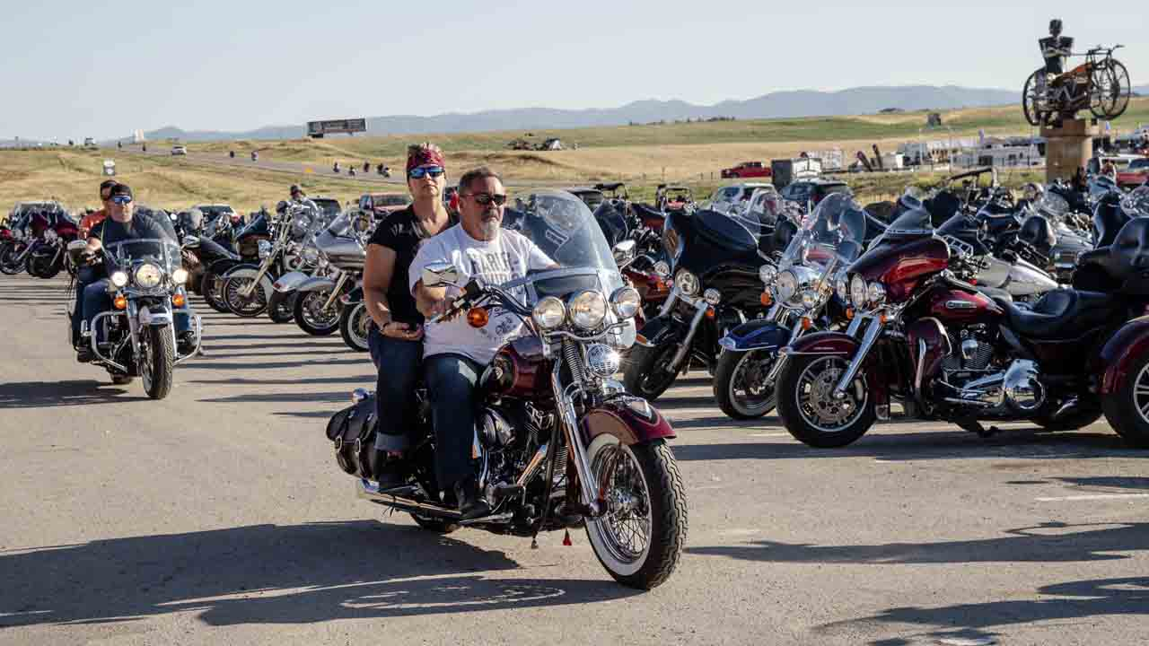 More Than 100 COVID-19 Cases In 8 States Linked To Massive Sturgis Motorcycle Rally In South Dakota
