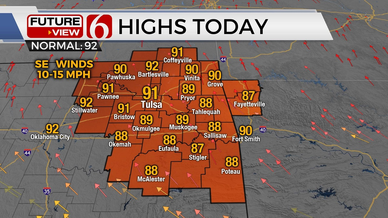 Muggy Weather Returns With Chance For Passing Storms