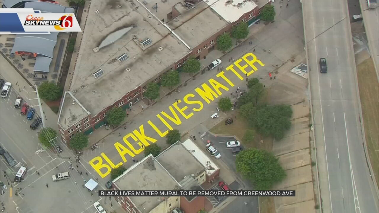 Black Lives Matter Mural Will Be Removed From Greenwood Ave