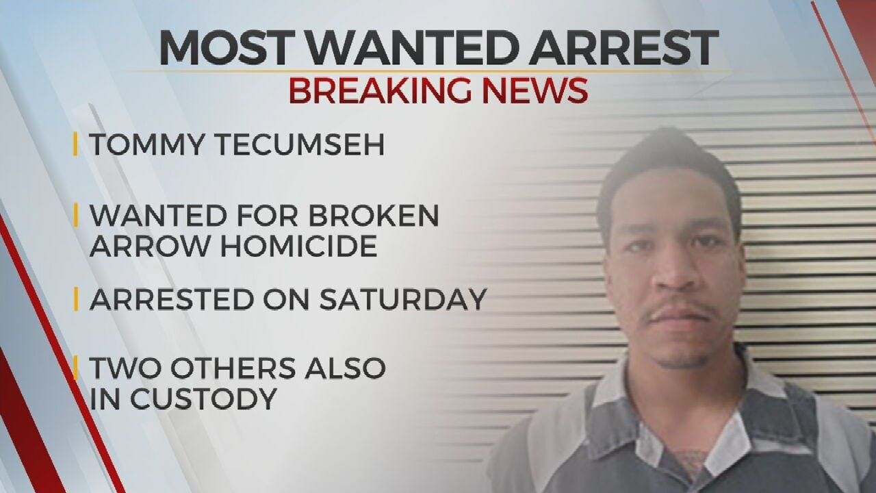 Most Wanted Murder Suspect Arrested In Okmulgee