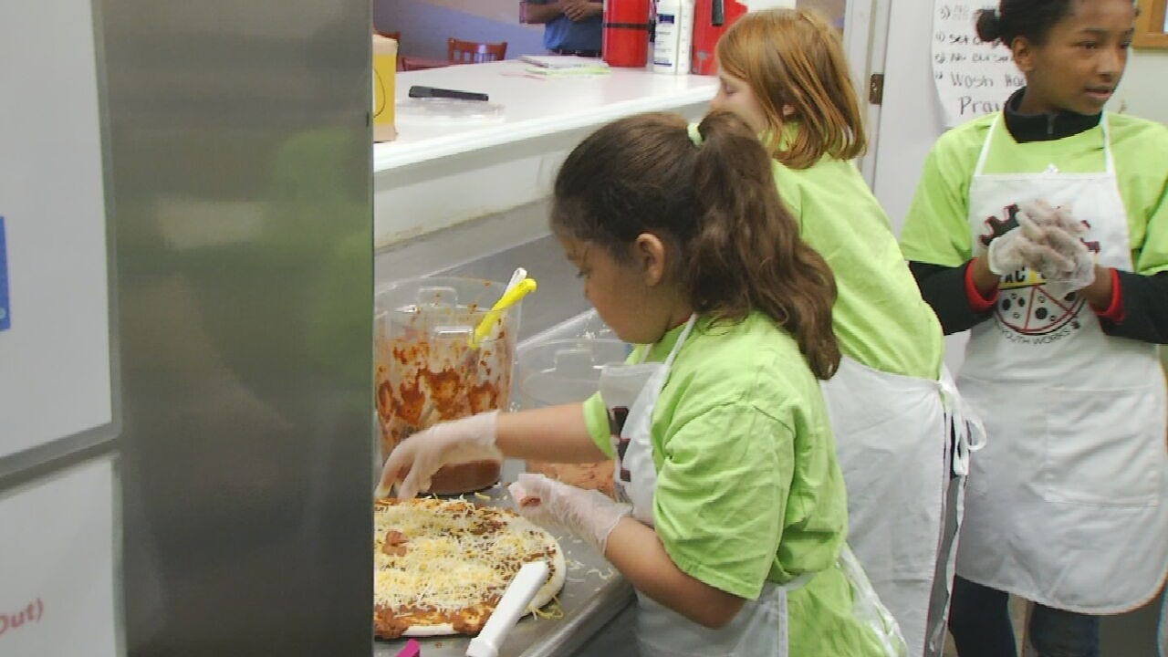 Tulsa Youth Works Pizza Factory Holding Valentine's Day Sale