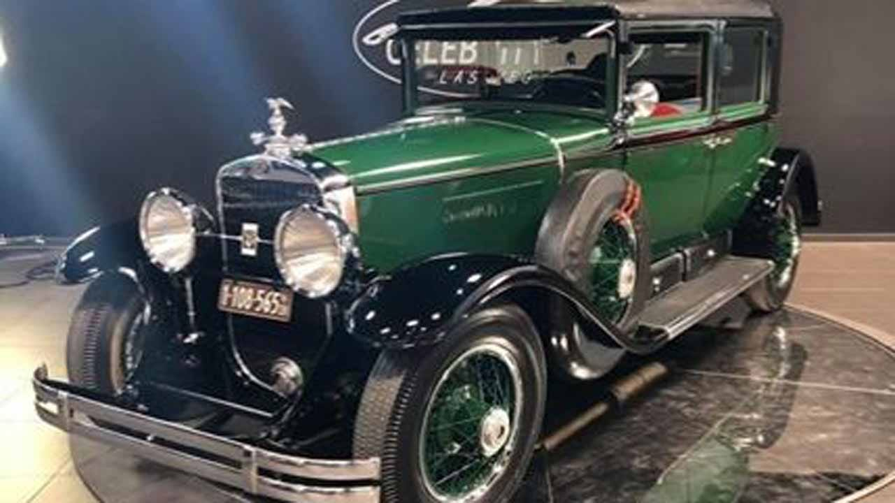 You Can Now Buy Al Capone's Bulletproof 1928 Cadillac Sedan For $1 million