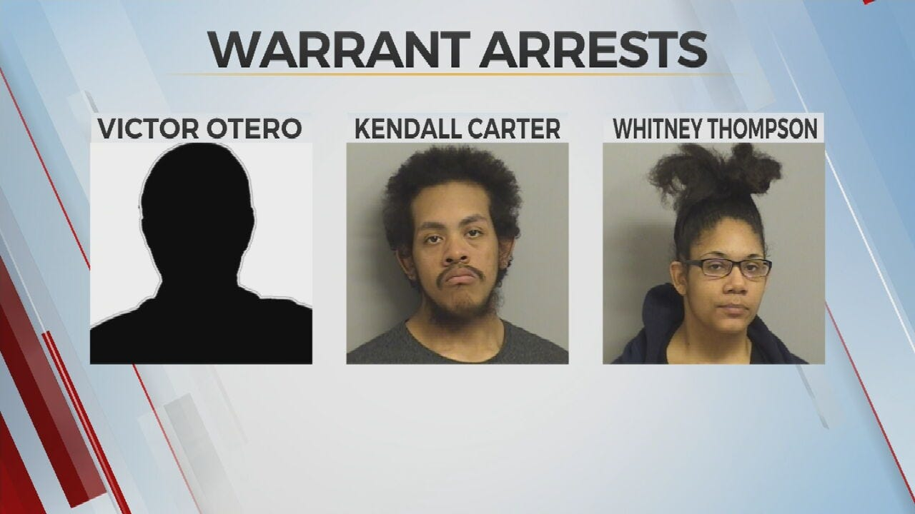 Police: 3 Arrested For Multiple Felony Warrants After Traffic Stop