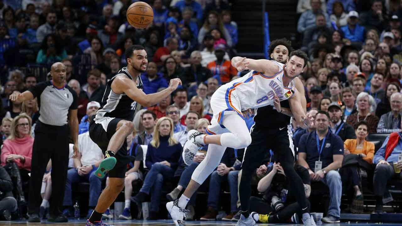 Thunder Defeated In Game Against Spurs, 114-106