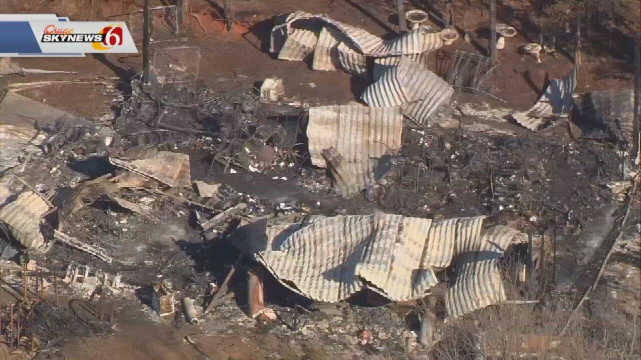 Elderly Couple Dies In Pawnee County House Fire