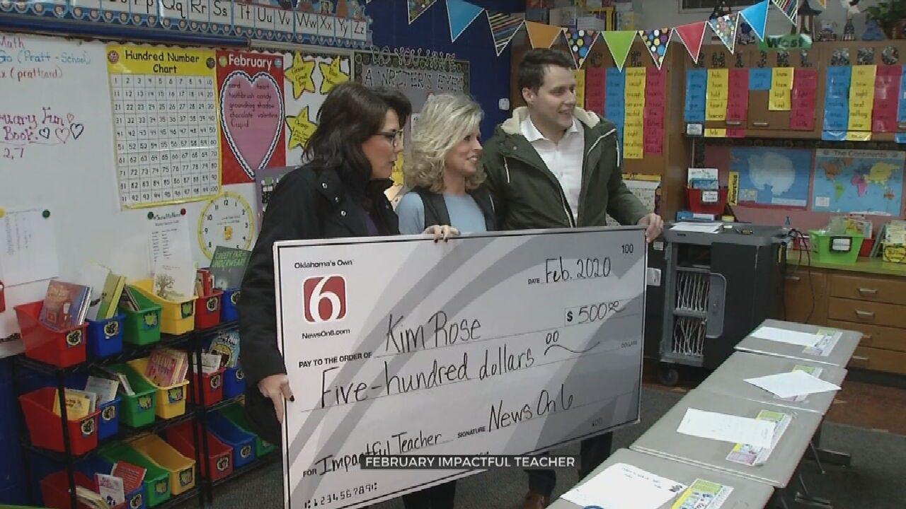 Sand Springs Educator Honored As 'Impactful Teacher'
