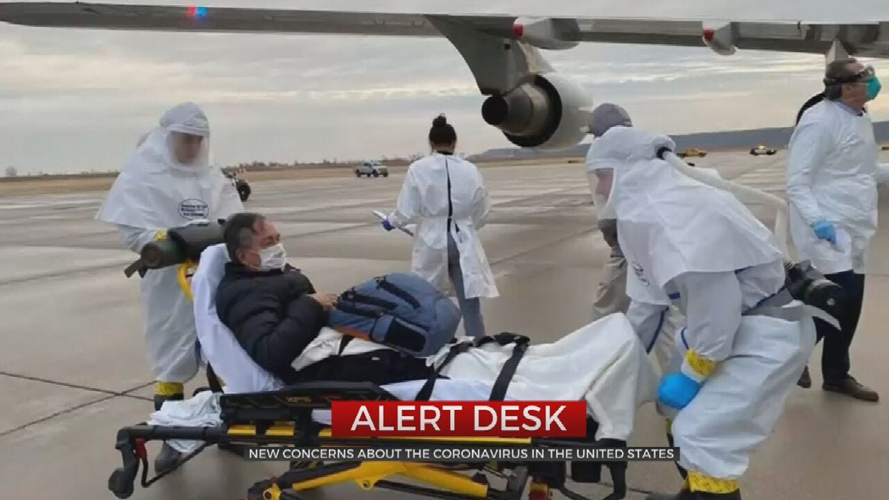 New Concerns About Coronavirus In U.S.