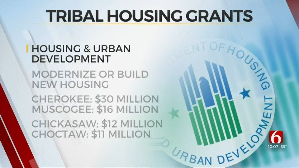 Oklahoma Tribes To Share Over $97 Million From HUD For Affordable Housing