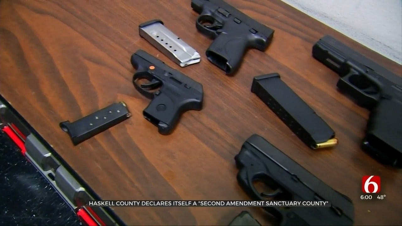 Sheriff: Haskell County Declared As '2nd Amendment Sanctuary'
