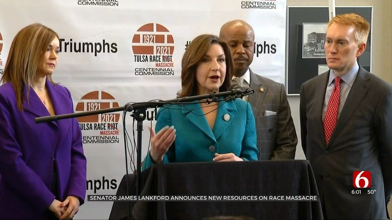 State Leaders Host Press Conference On 1921 Race Massacre Commission