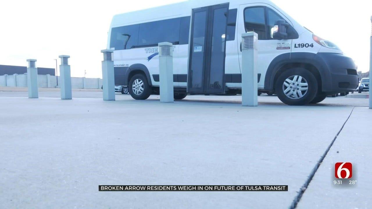 Broken Arrow Community Hopes For Public Transportation Improvements