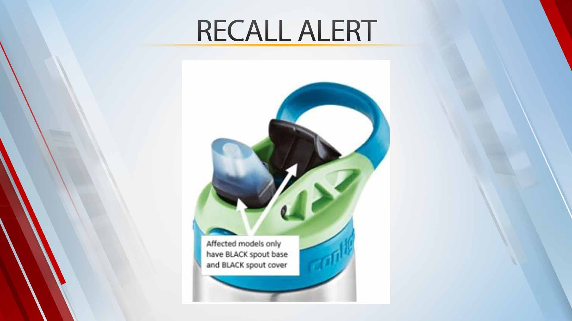 Contigo Recalls Nearly 6 Million Kids' Water Bottles Due To Choking Risk
