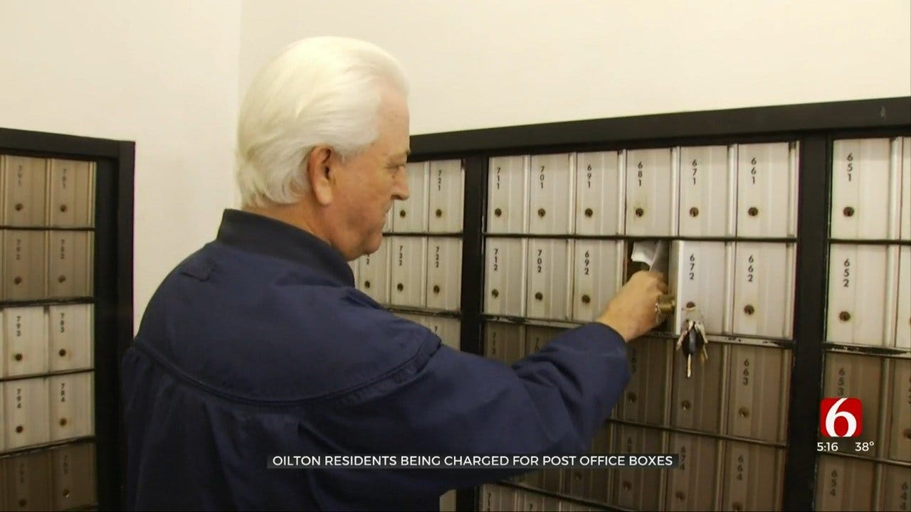 Oilton Residents Frustrated About Paying For Mail Service