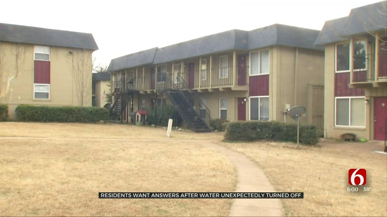 Tulsa Apartment Complex Doesn't Pay Bills, Leaves Residents Without Water