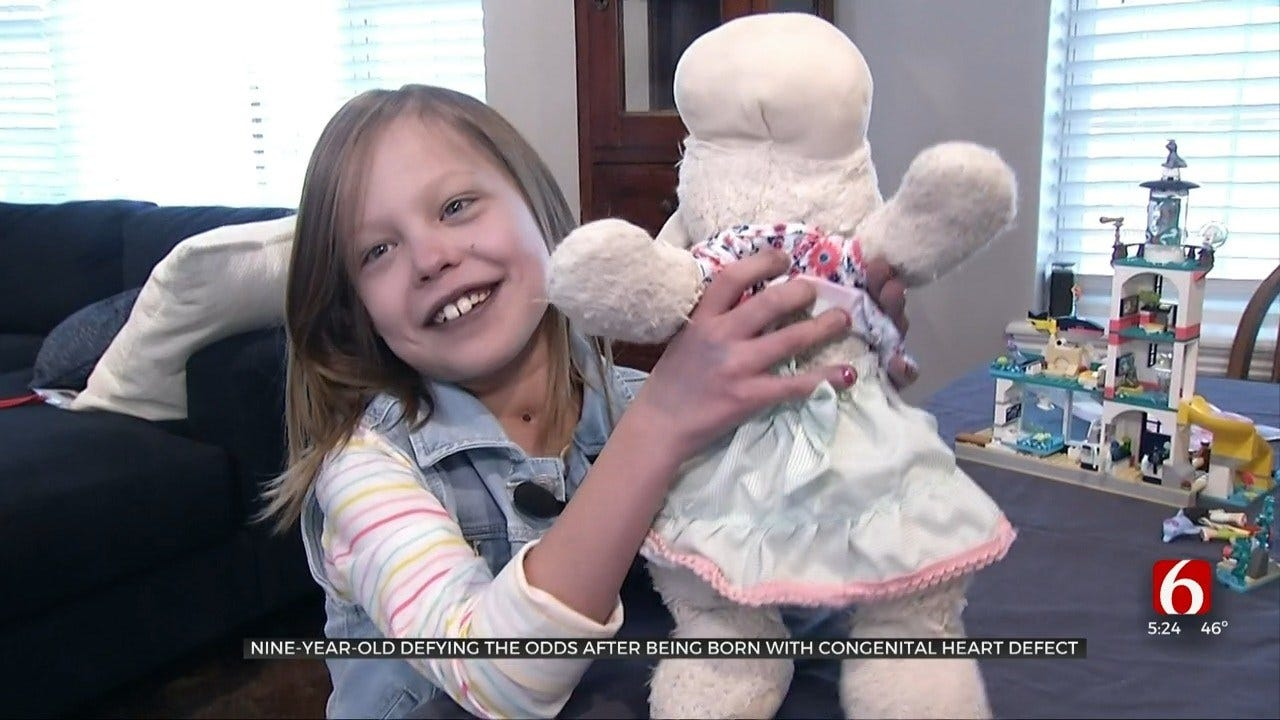McAlester Community Throws Dance Party For Girl With Rare Heart Defect