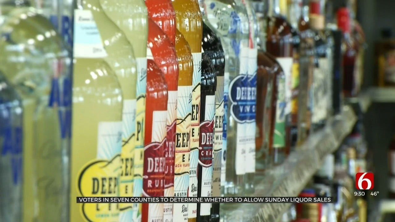Several Oklahoma Counties To Vote On Allowing Liquor Stores To Open On Sundays