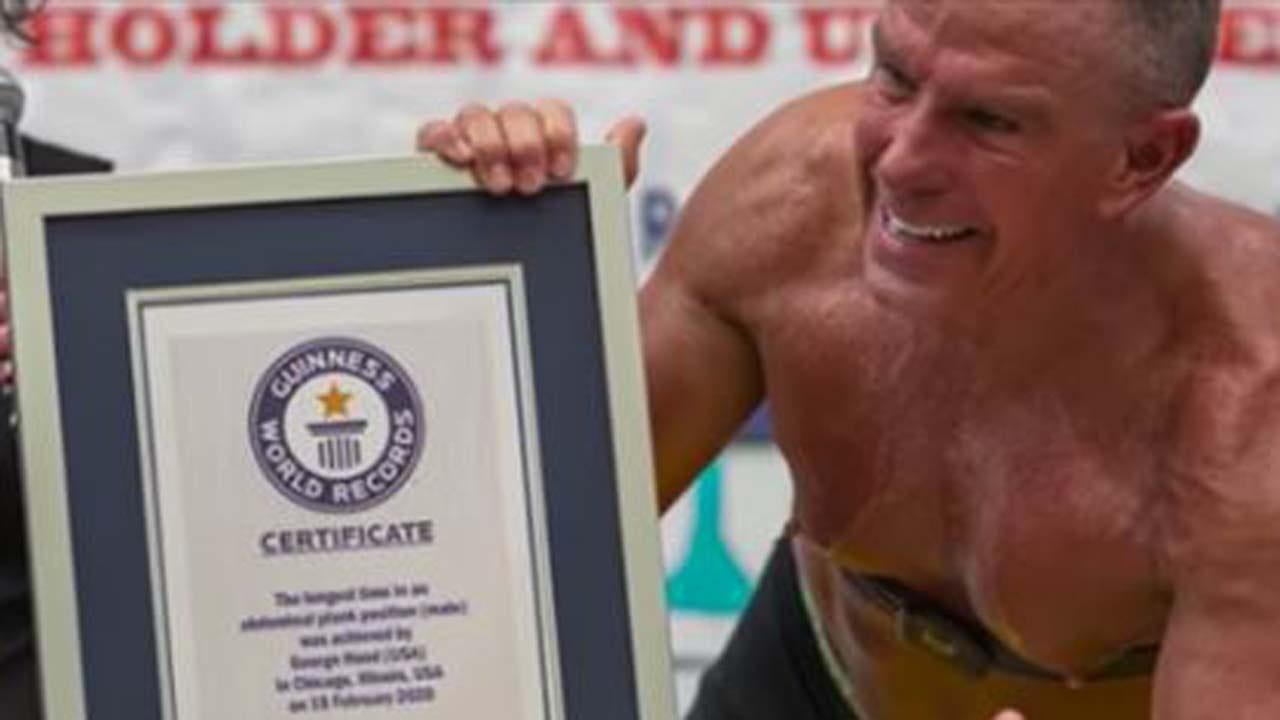Marine Veteran Holds Plank For Over 8 Hours, Sets Guinness World Record