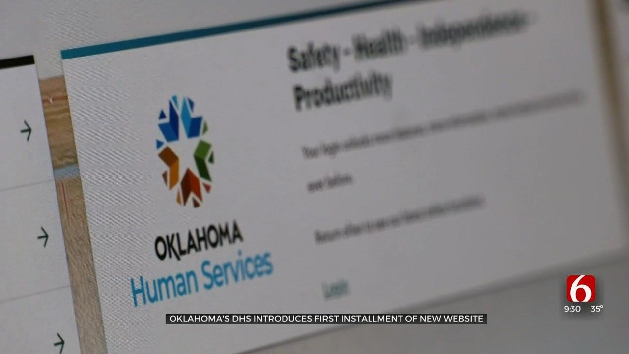 Oklahoma DHS Begins First Steps For New Website