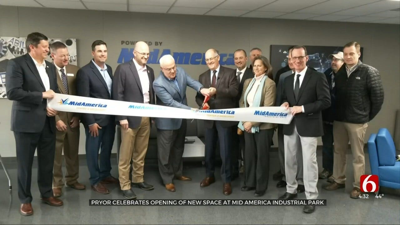 Pryor's Mid America Opens 'Center Of Excellence'