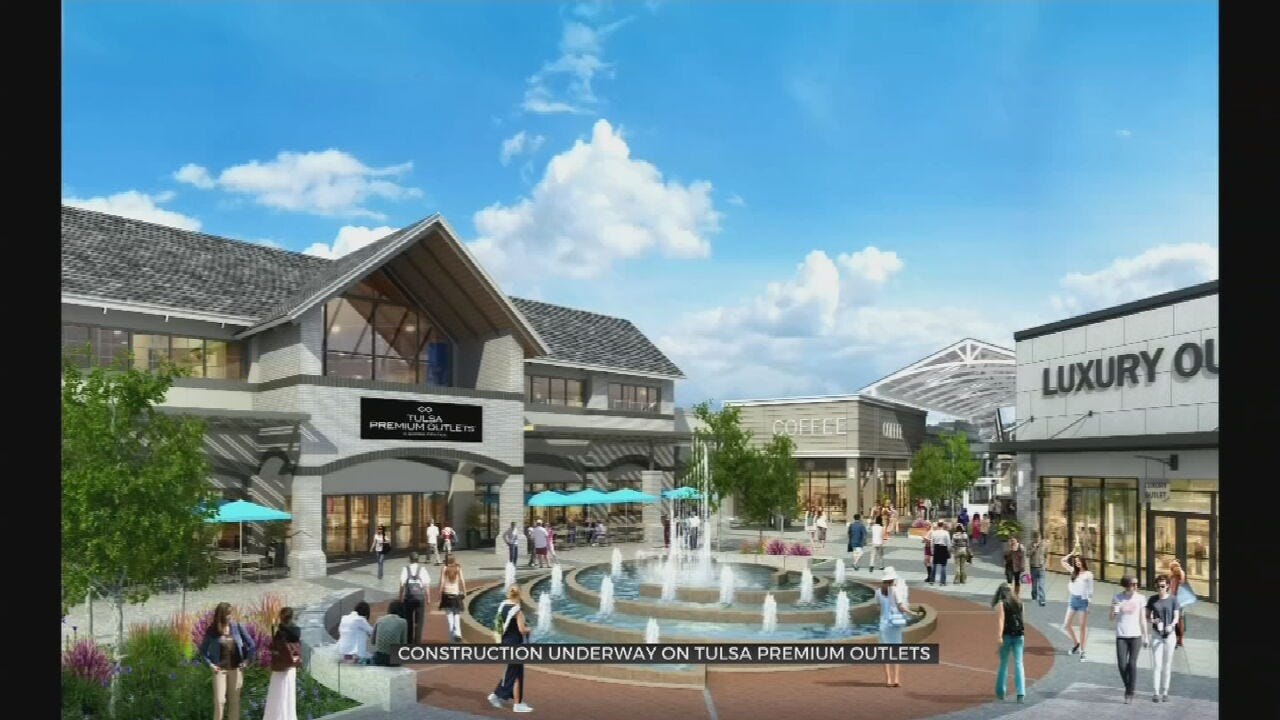 Construction Starts On Jenks Outlet Mall