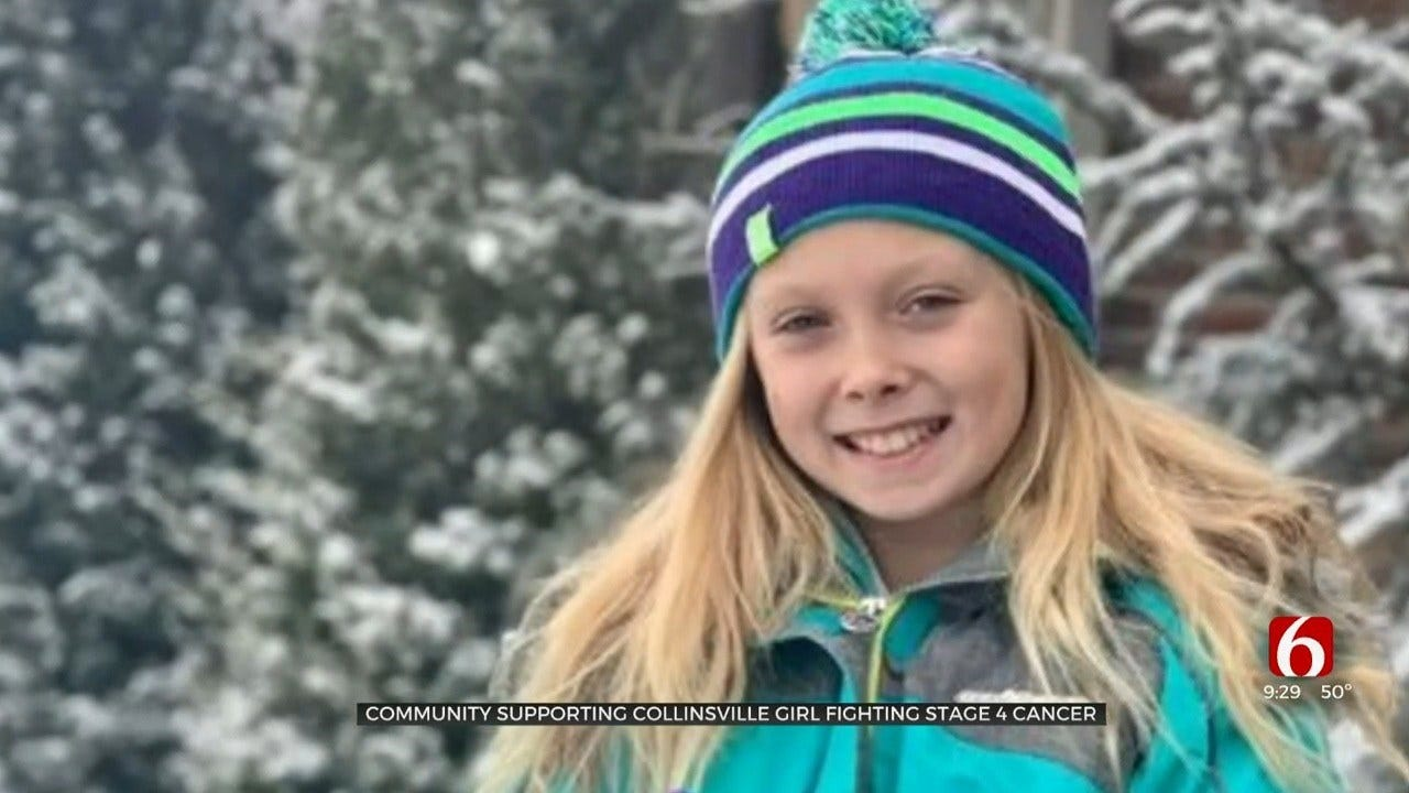 Collinsville Community Raises Money For 10-Year-Old Girl Diagnosed With Cancer