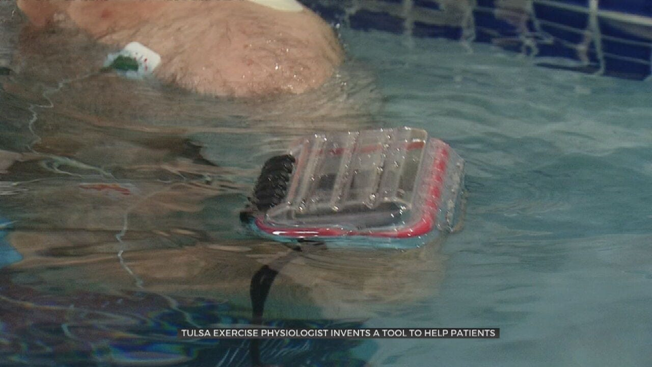 Tulsa Exercise Physiologist Invents Tool To Help Patients