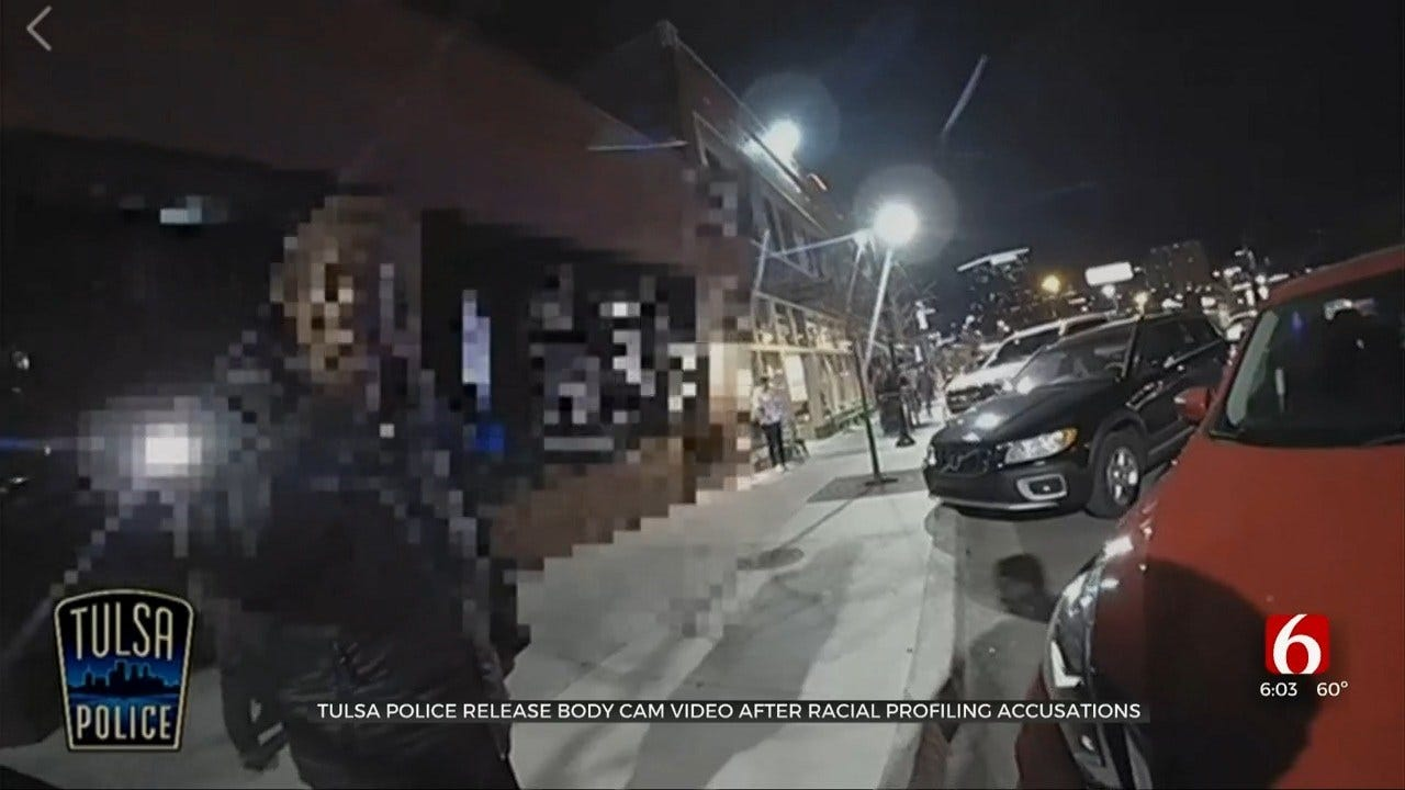 Tulsa Police Release Body Cam Video After Accusations Of Racial Profiling