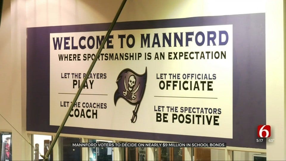Voters To Decide On $9 Million In Bonds For Mannford Schools