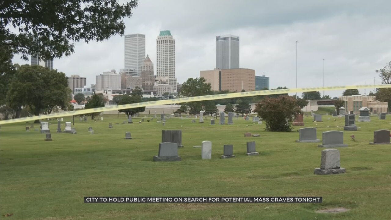 City Of Tulsa Holding Meeting About Search For Mass Graves From 1921 Race Massacre