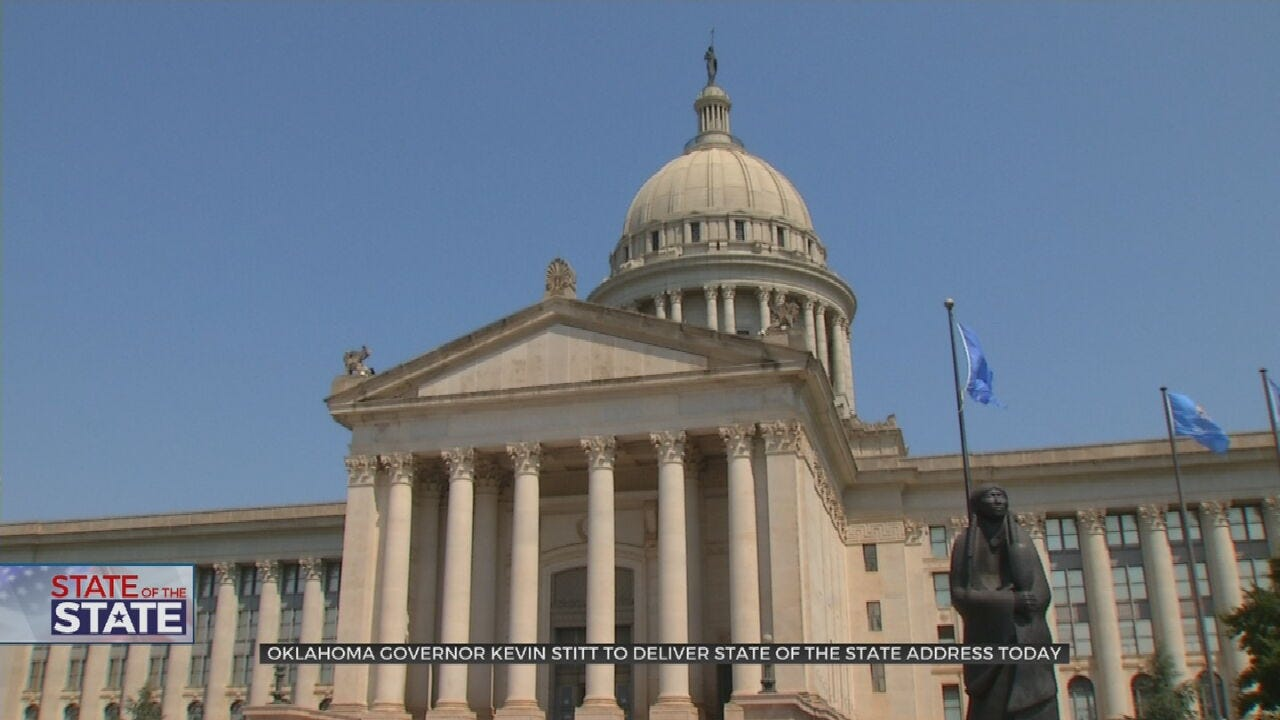 Gov. Stitt To Deliver State Of The State Address