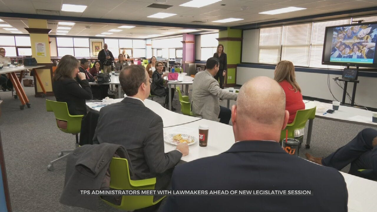 TPS Administrators Meet With Lawmakers Before New Legislative Session