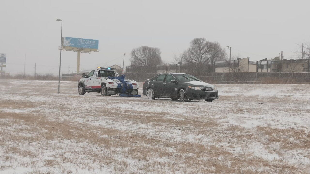 AAA Tow Trucks Out In Force To Help Stranded Drivers