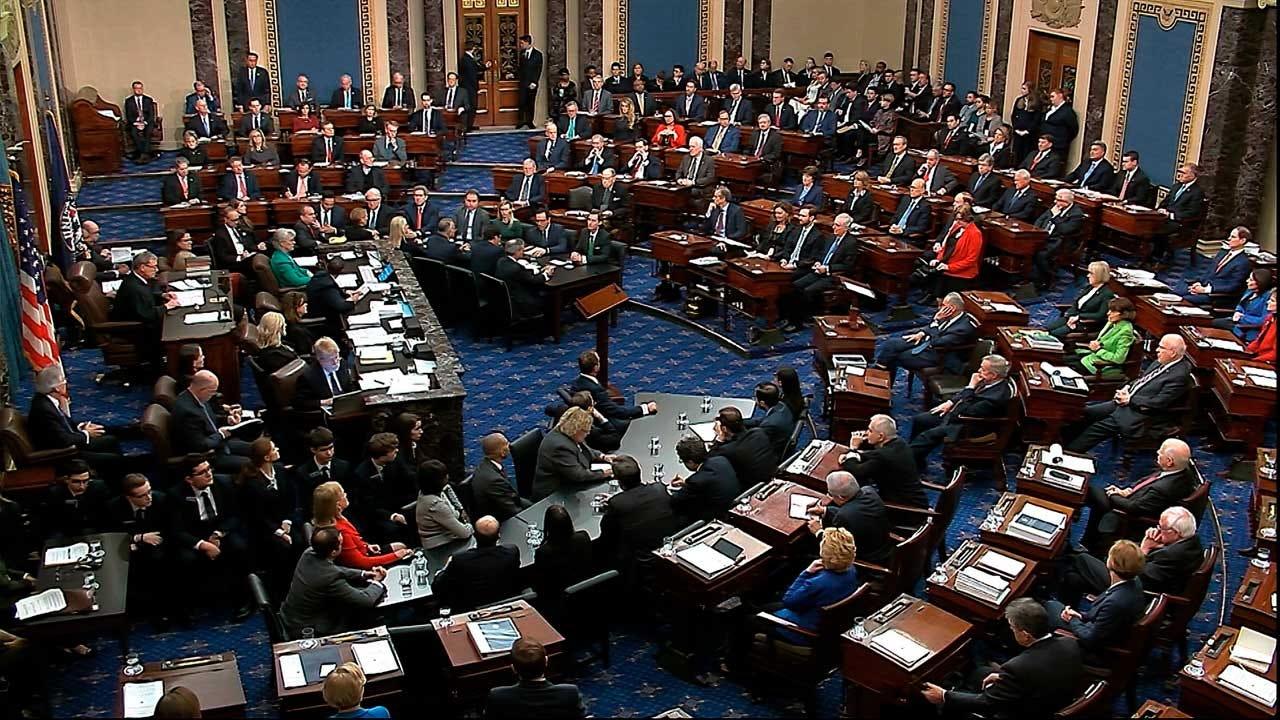 Not Guilty: Split Senate Acquits Trump Of Impeachment