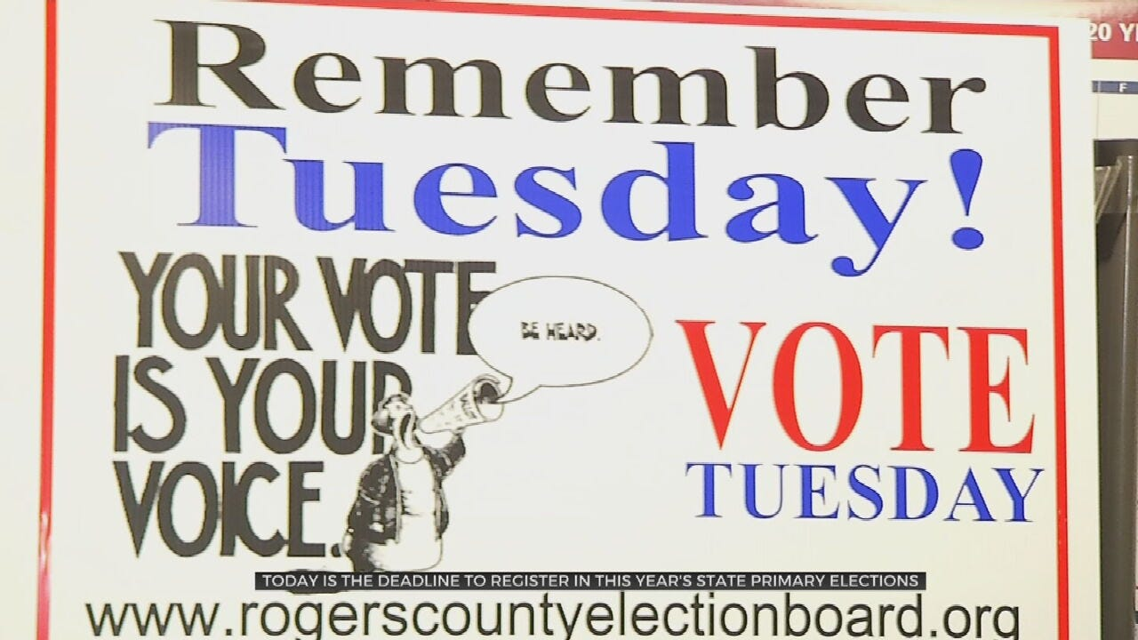 Rogers County Election Board Extends Hours For Voter Registration