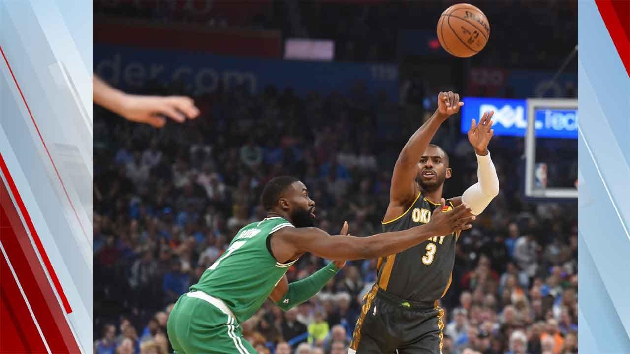 Thunder Drop Close Game To Celtics 112-111