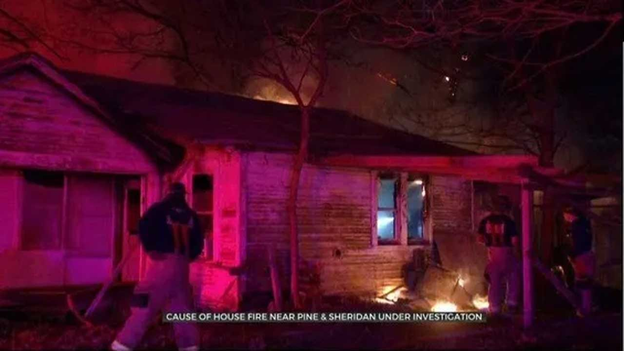 Fire Marshal Investigating If Fireworks Caused House Fire Near Tulsa Airport