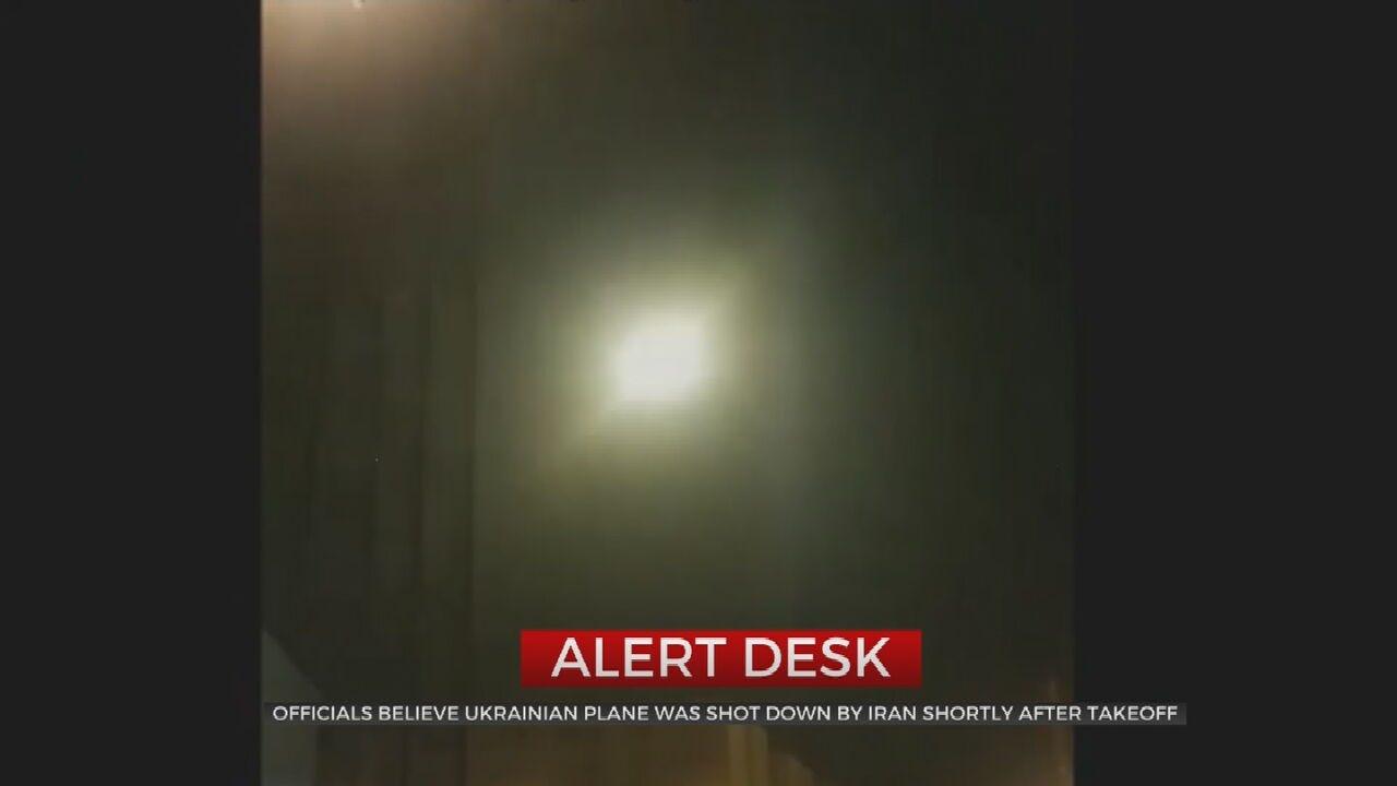 Iran 'Likely' Shot Down Ukrainian Plane, U.S. & Allies Say