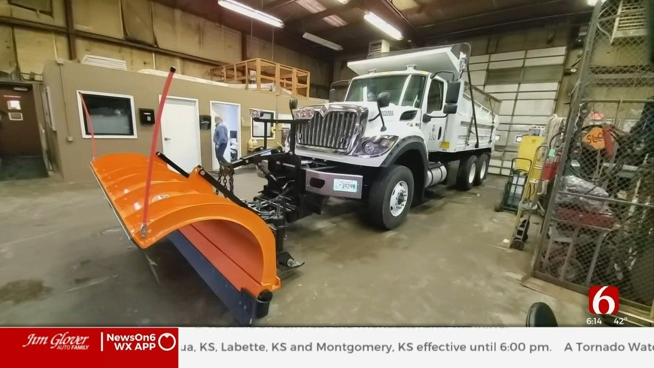 Tulsa Road Crews On Standby For Winter Weather