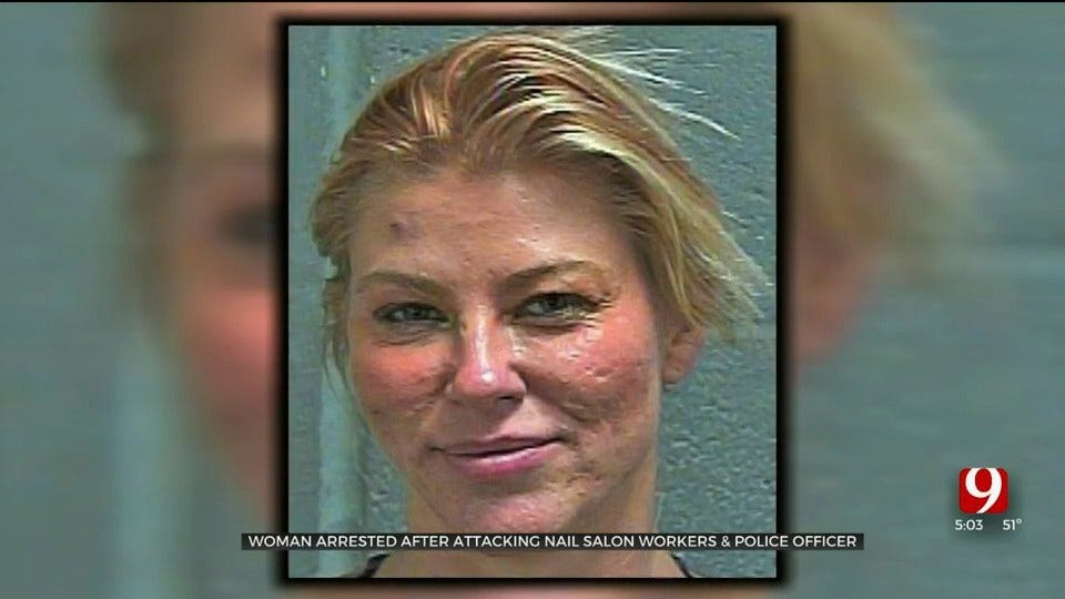 Charges Filed Against OKC Woman In Nail Salon Attack
